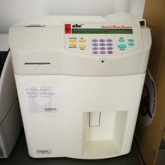 Máquina hemograma